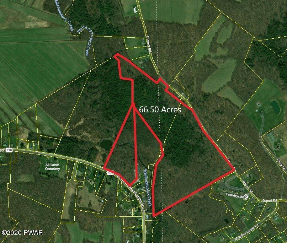 Land for Sale at Hamlin Hwy Jefferson Township, Pennsylvania 18436 United States