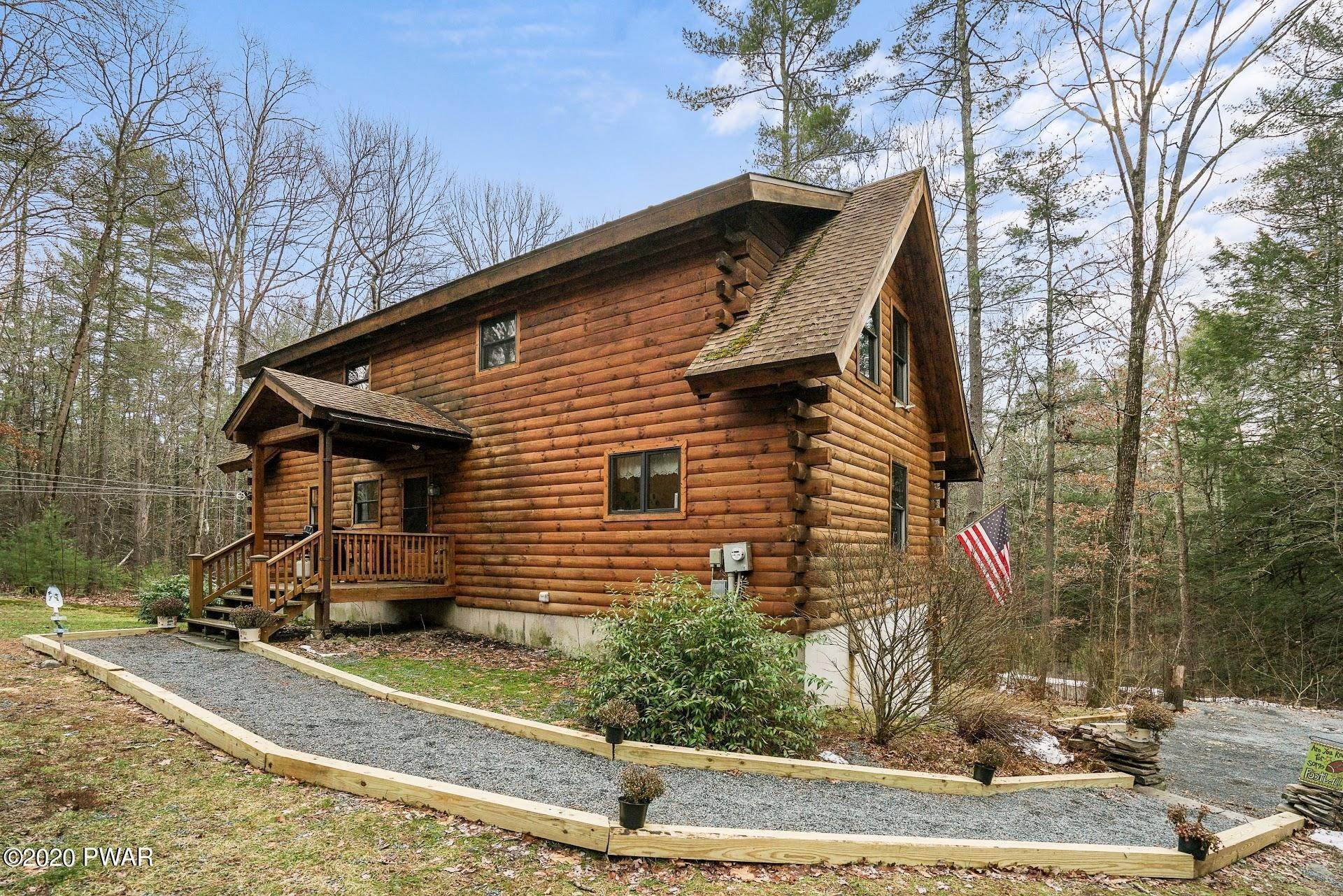Single Family Homes for Sale at 163 Mckean Valley Rd Shohola, Pennsylvania 18458 United States