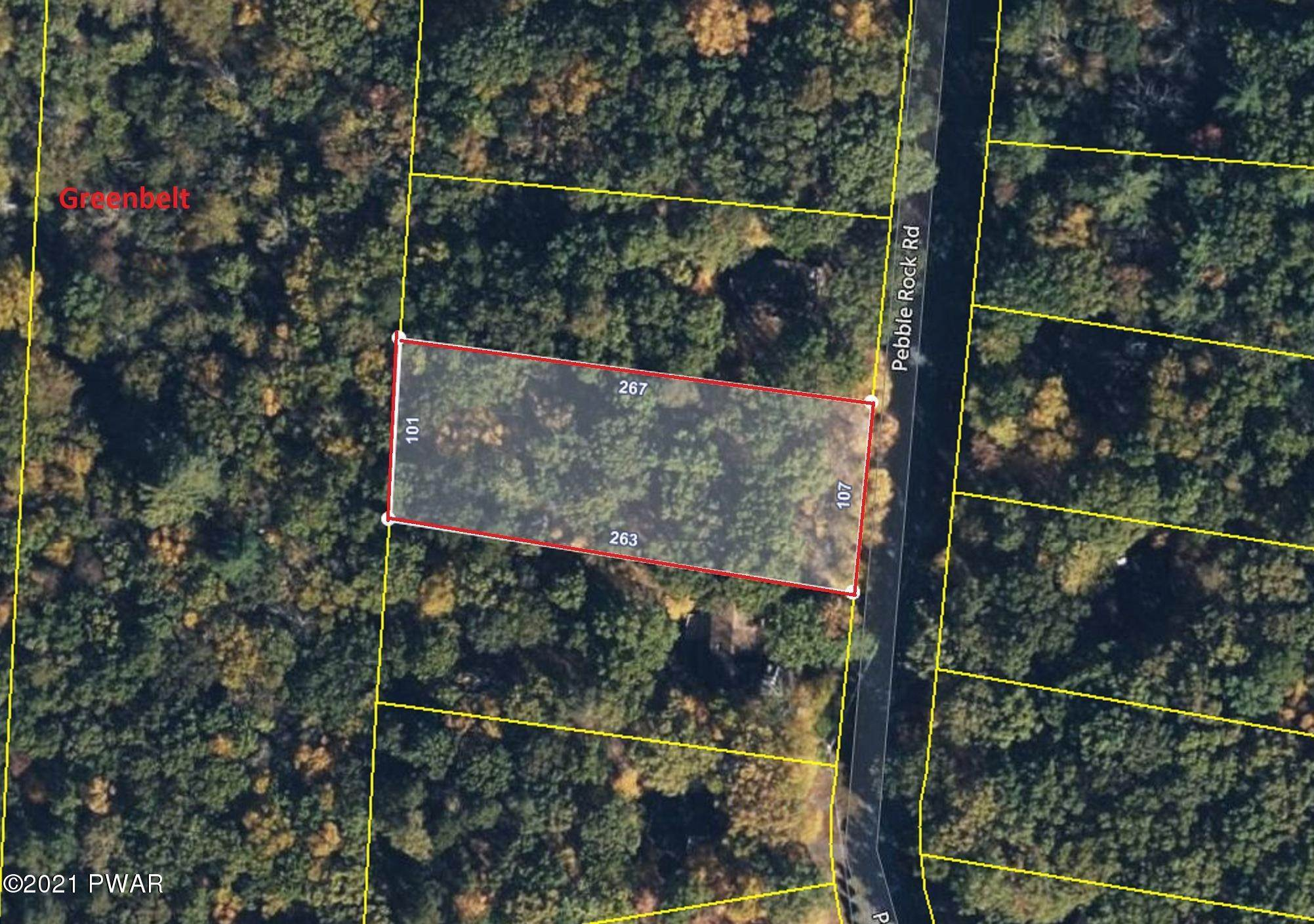 Land for Sale at 178 Pebble Rock Rd Lackawaxen, Pennsylvania 18435 United States