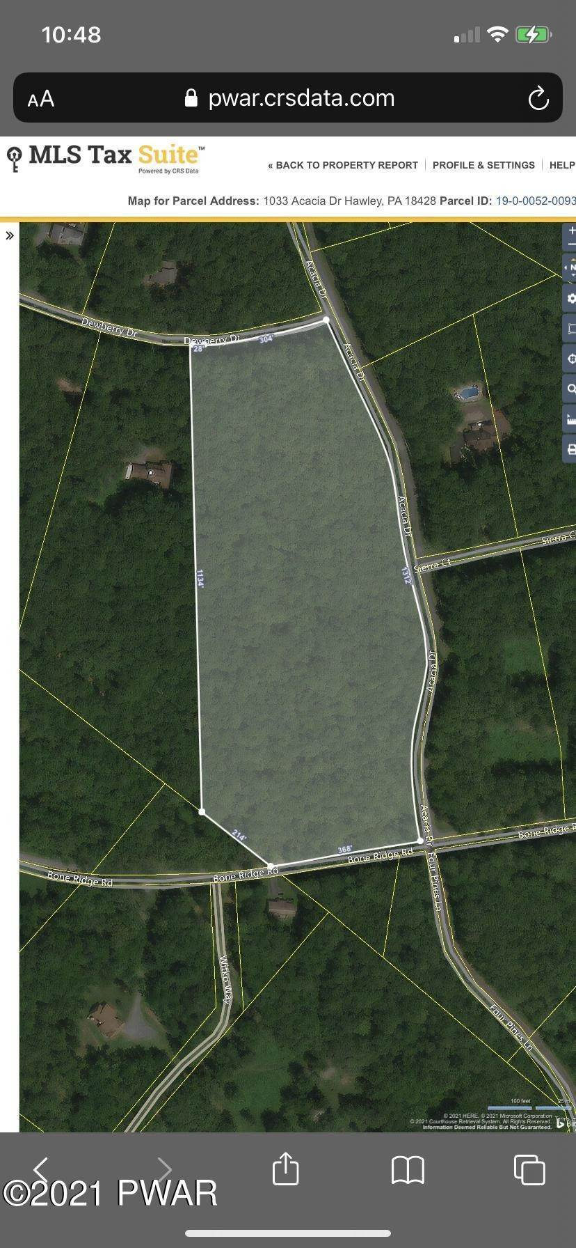 15. Land for Sale at 1033 Acacia Dr Hawley, Pennsylvania 18428 United States