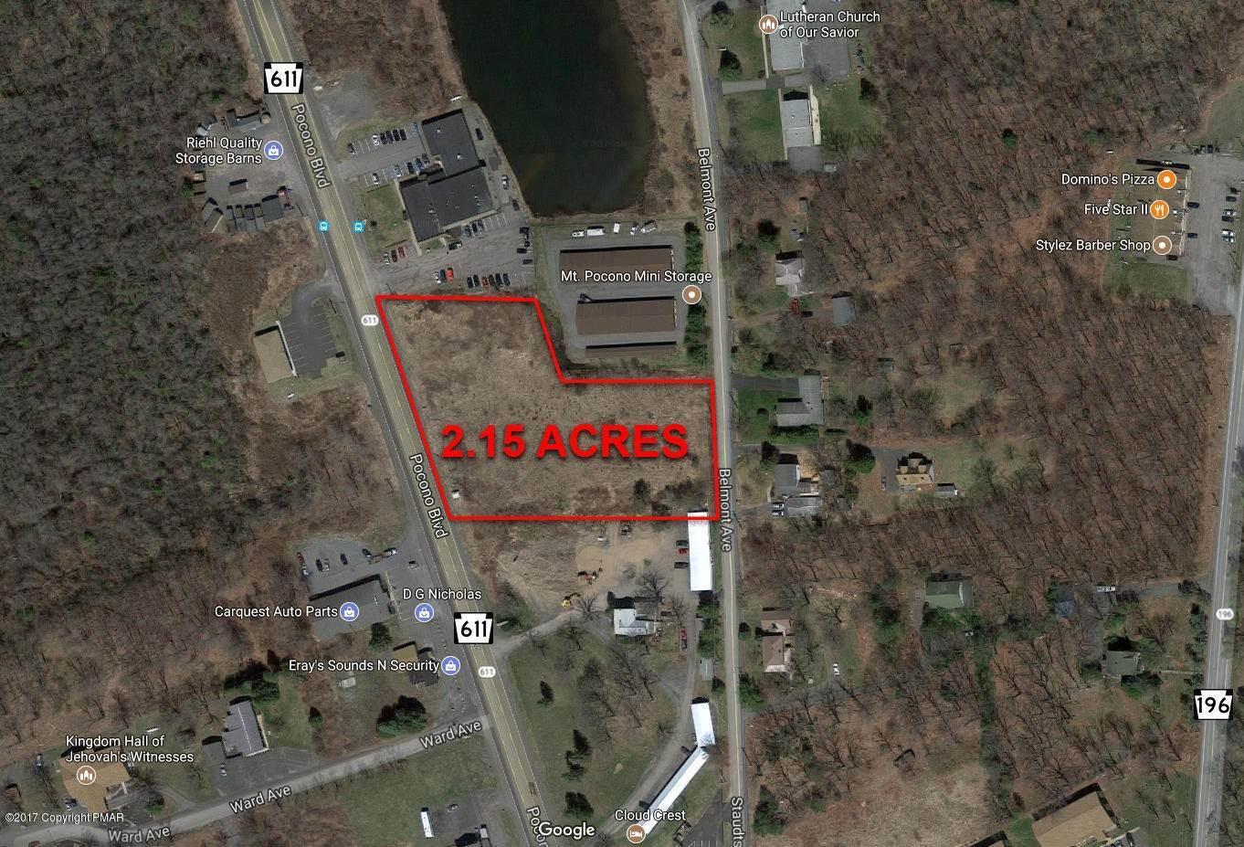 Commercial for Sale at 1149 Route 611 Mount Pocono, Pennsylvania 18344 United States