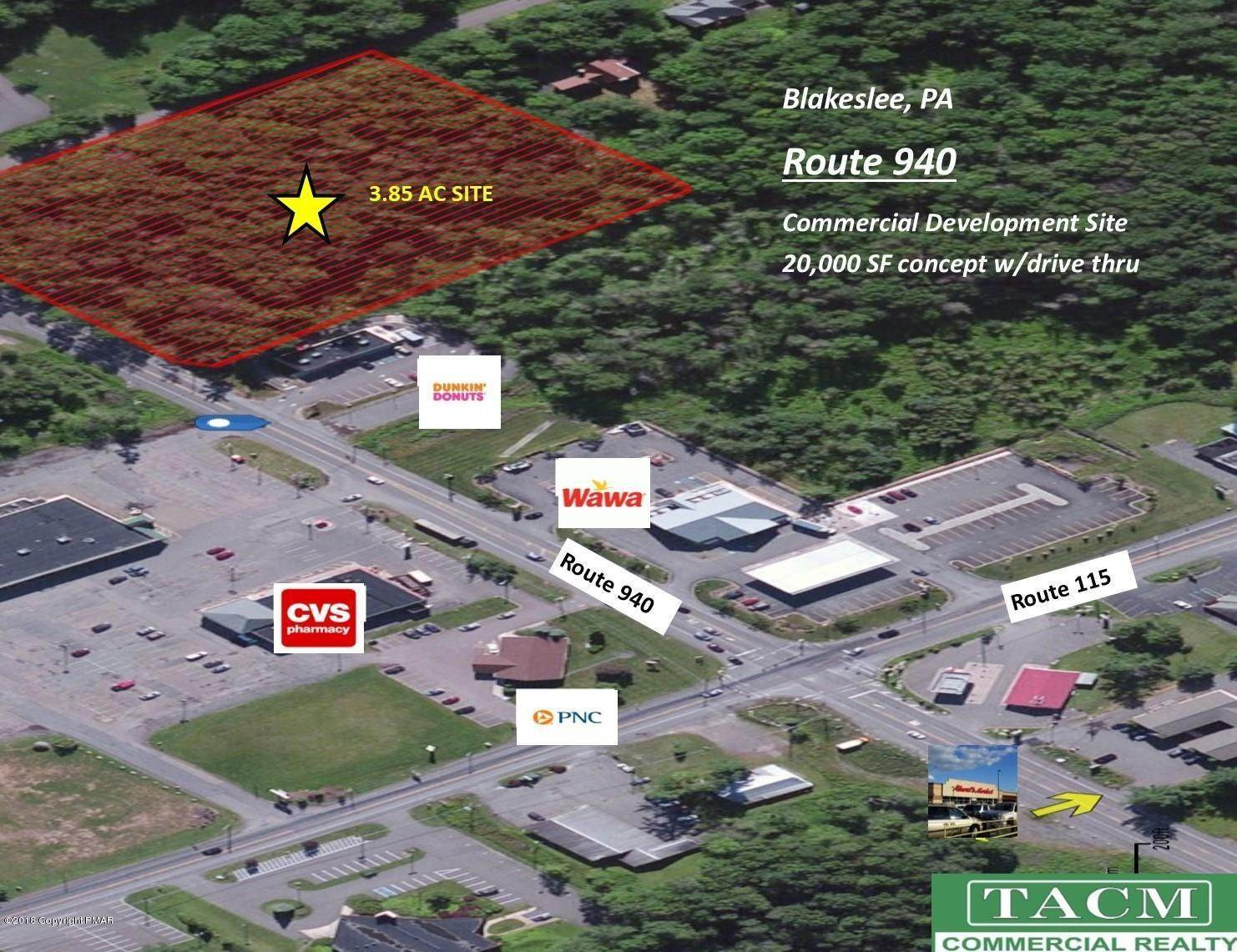Commercial for Sale at 940 Pa Rte 940 Blakeslee, Pennsylvania 18610 United States