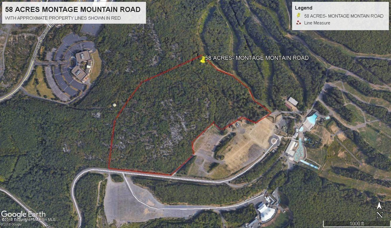 Land for Sale at 58 Acres Montage Mountain Road Scranton, Pennsylvania 18507 United States