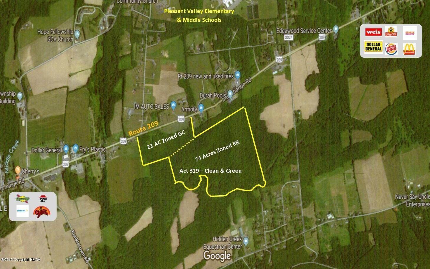 Land for Sale at Route 209 Kunkletown, Pennsylvania 18058 United States