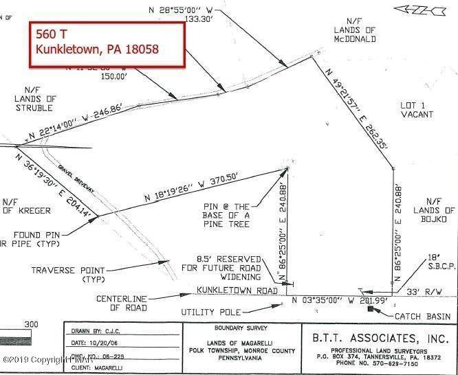 Land for Sale at 560 T Kunkletown, Pennsylvania 18058 United States