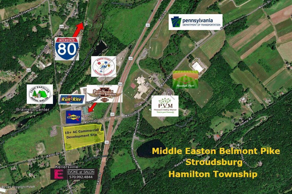 2. Land for Sale at 3403 Middle Easton Belmont Pike Stroudsburg, Pennsylvania 18360 United States