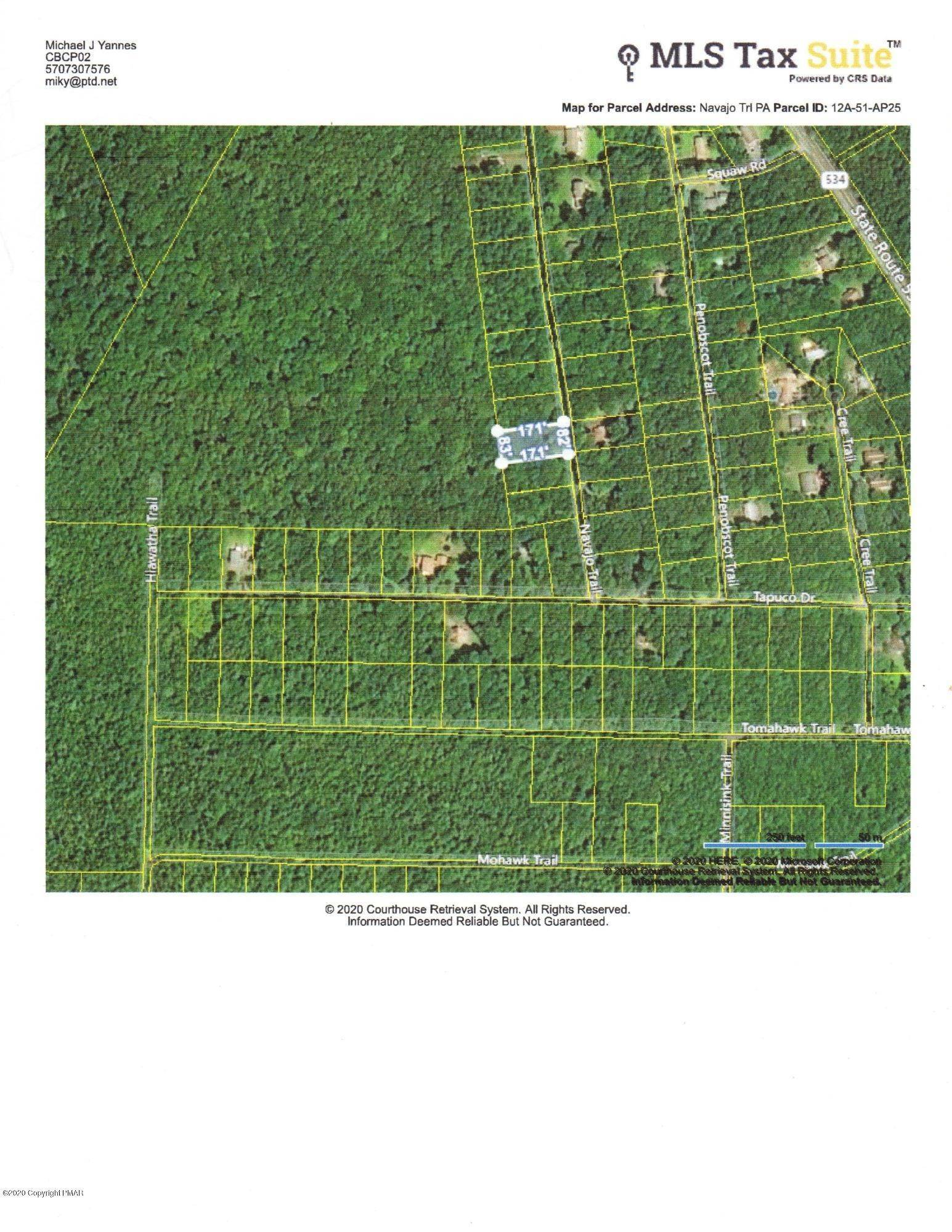 Land for Sale at 25 Navajo Trl Albrightsville, Pennsylvania 18210 United States