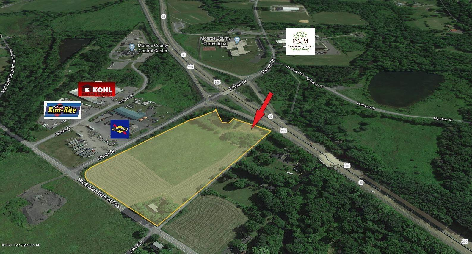 Land for Sale at 3403 Middle Easton Belmont Pike Stroudsburg, Pennsylvania 18360 United States