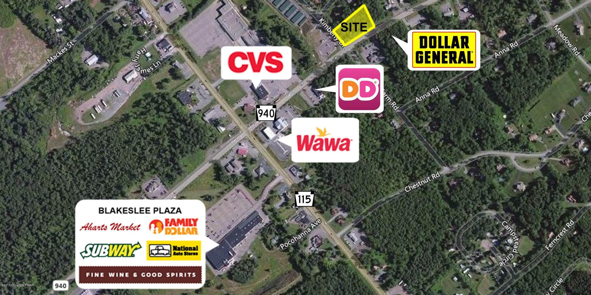 Commercial for Sale at Sr 940 And Kimberly Dr. Blakeslee, Pennsylvania 18610 United States