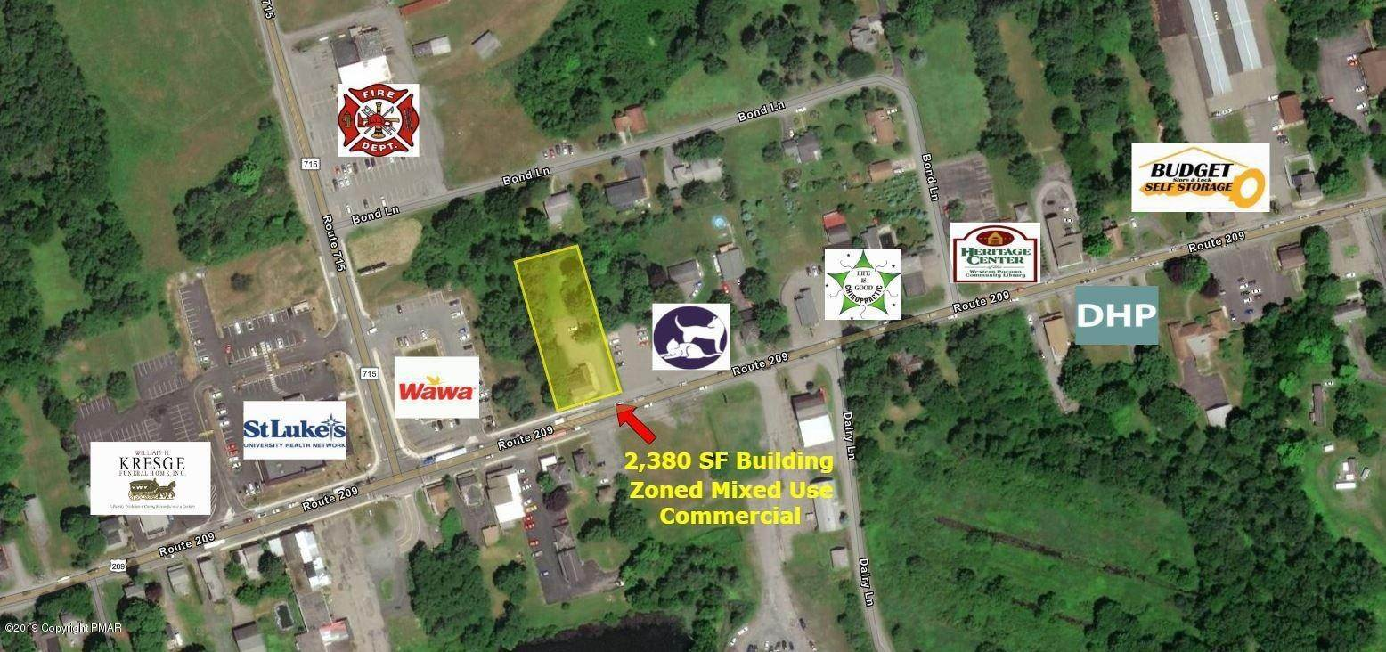 Commercial for Sale at 1791 Route 209 Brodheadsville, Pennsylvania 18322 United States