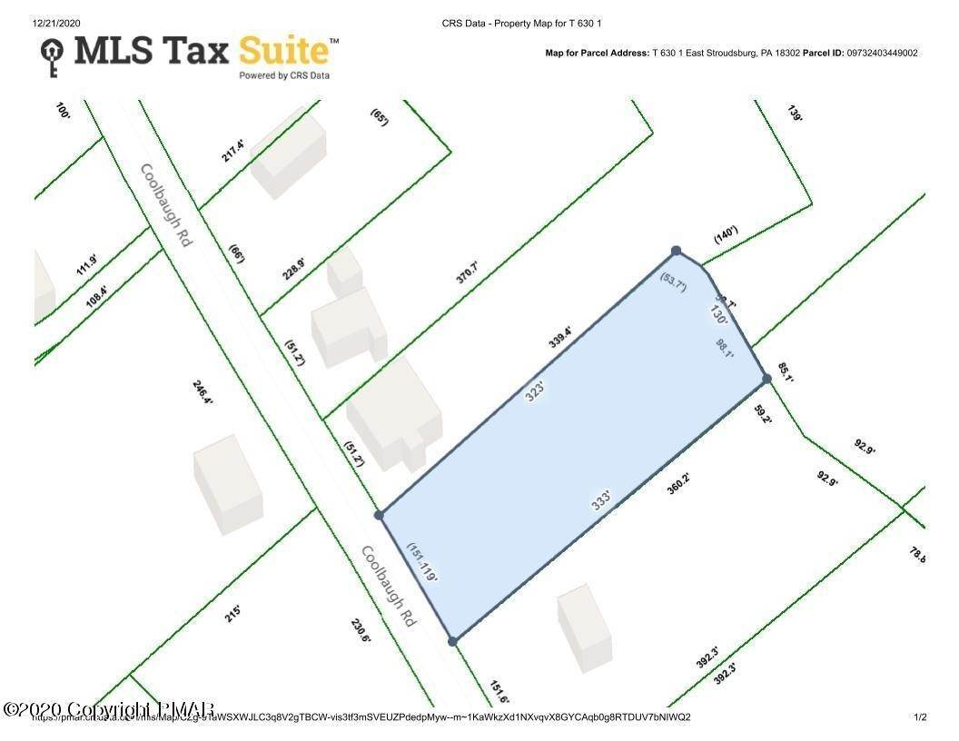 2. Land for Sale at T 630 East Stroudsburg, Pennsylvania 18302 United States