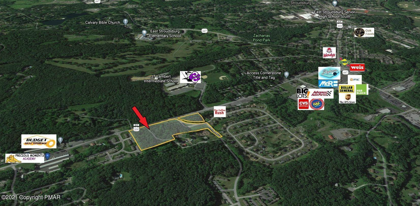 Commercial for Sale at Route 209 East Stroudsburg, Pennsylvania 18301 United States