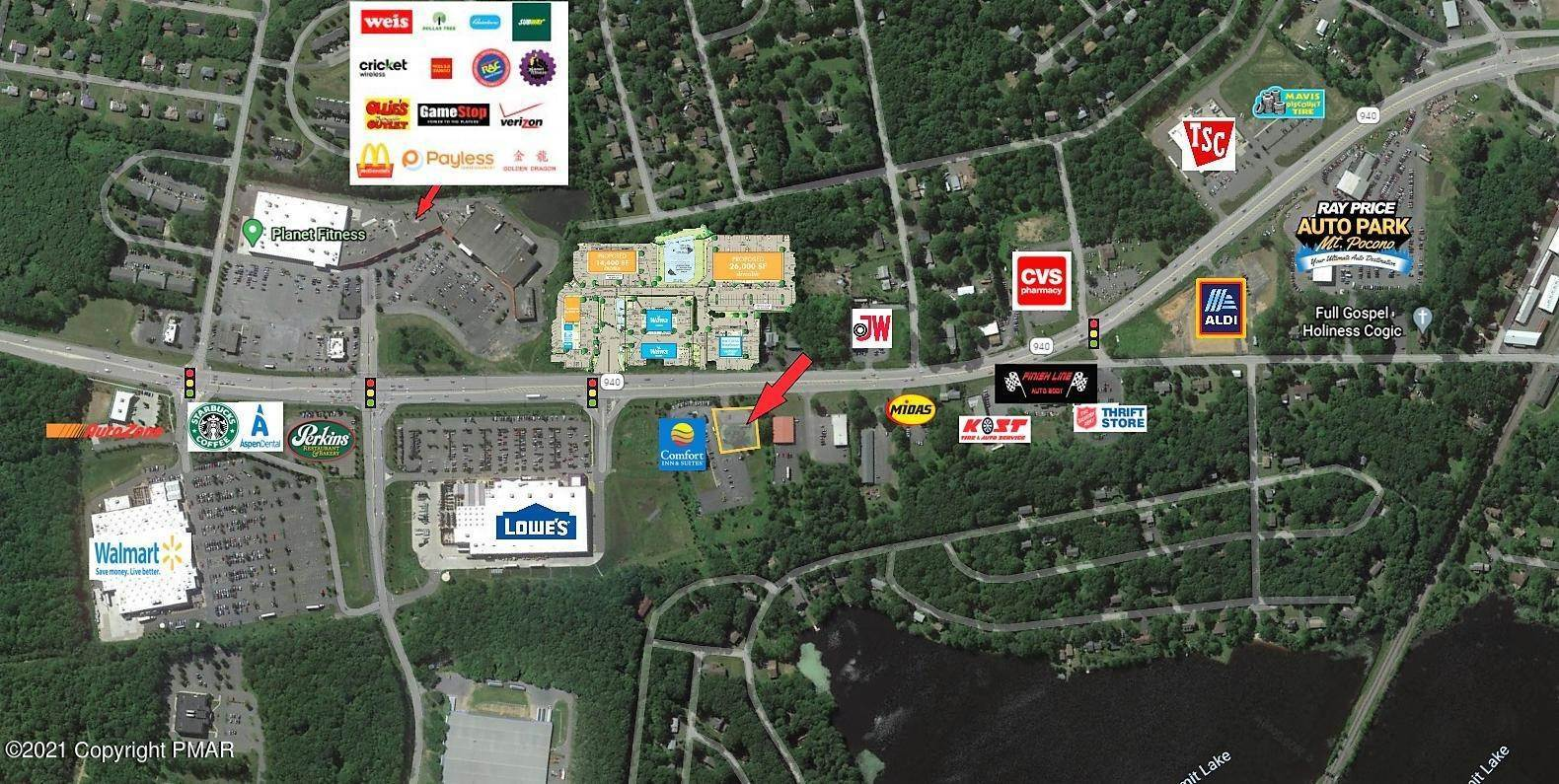 Commercial for Sale at 3187 Route 940 Mount Pocono, Pennsylvania 18344 United States