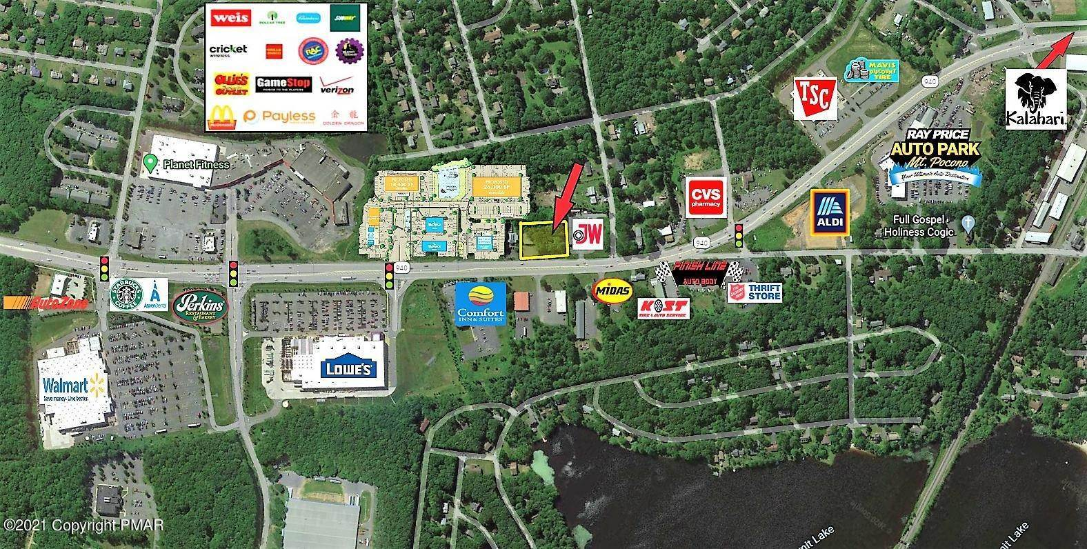 8. Commercial for Sale at 3174 Route 940 Rte Mount Pocono, Pennsylvania 18344 United States
