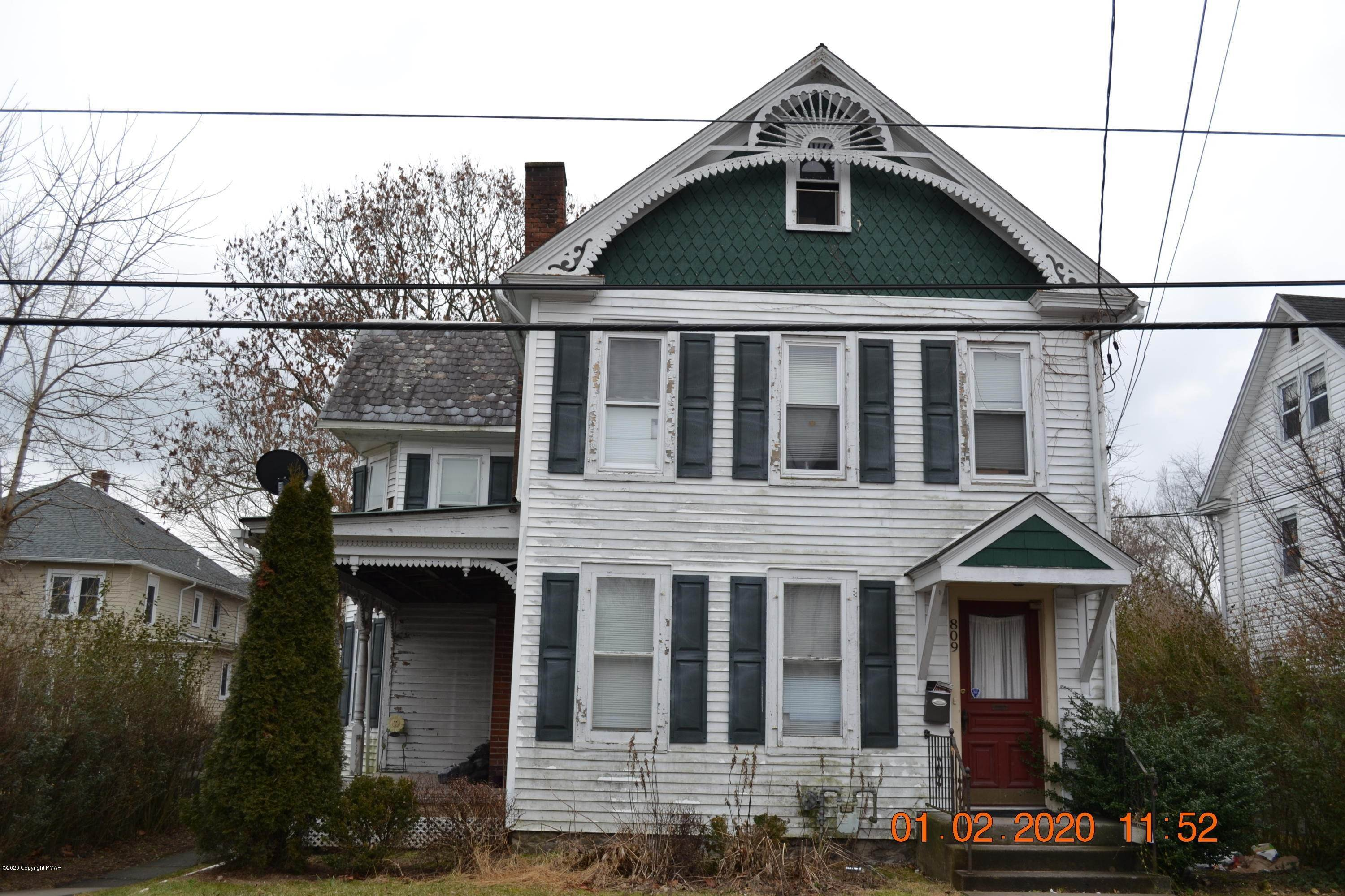 Single Family Homes for Sale at 809 Ann St Stroudsburg, Pennsylvania 18360 United States