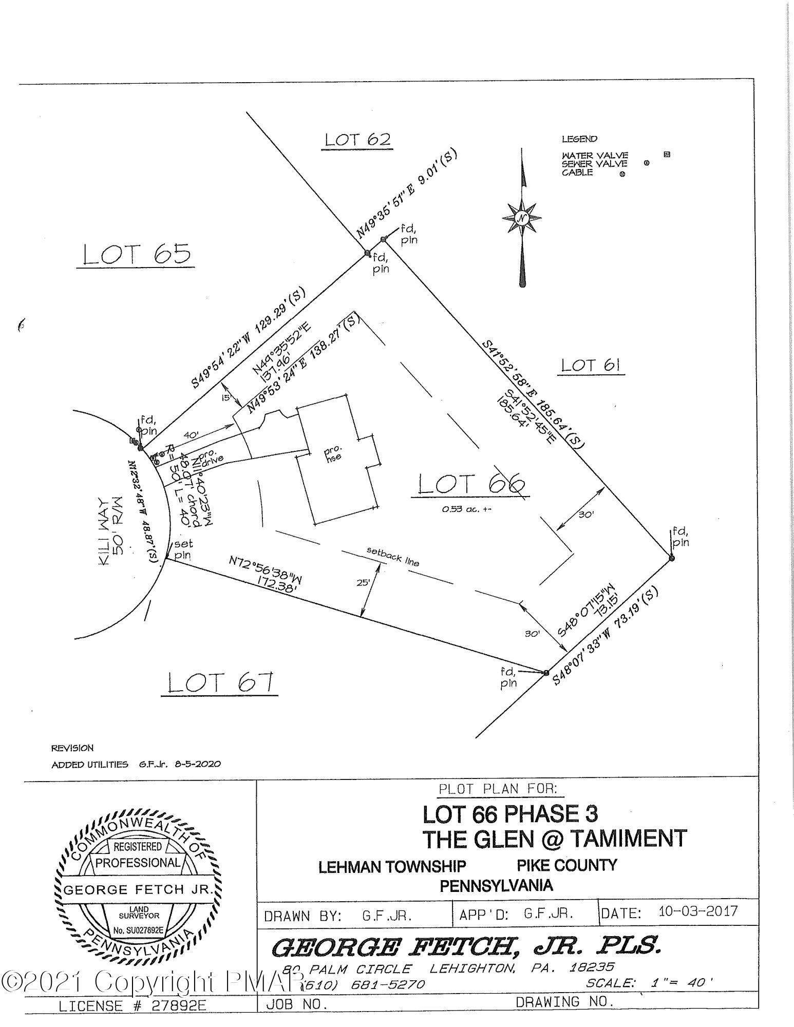 Land for Sale at 66 Kili Way Tamiment, Pennsylvania 18371 United States