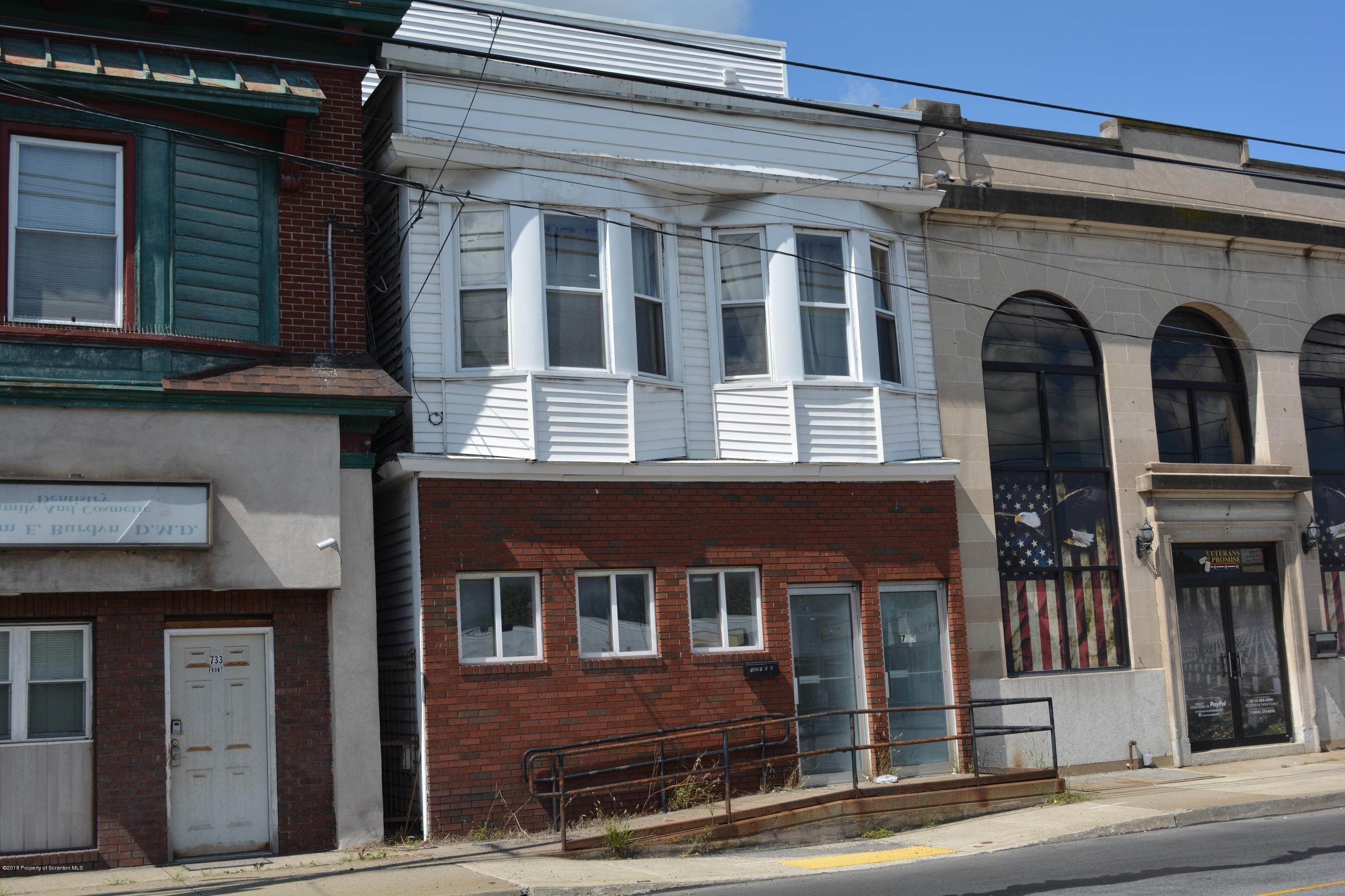 Commercial for Sale at 735 Main St Dickson City, Pennsylvania 18519 United States