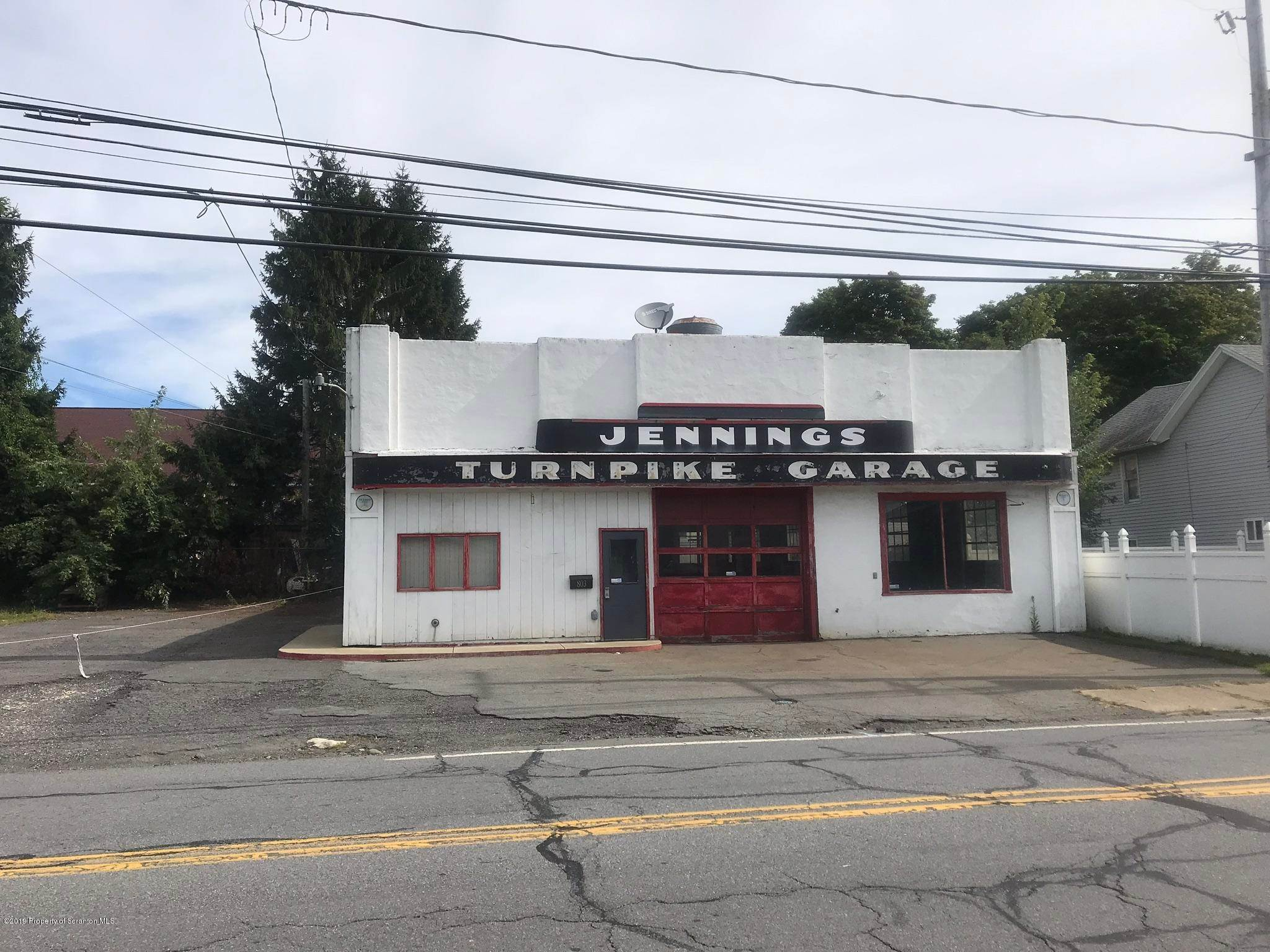 Commercial for Sale at 805 Drinker St Dunmore, Pennsylvania 18512 United States