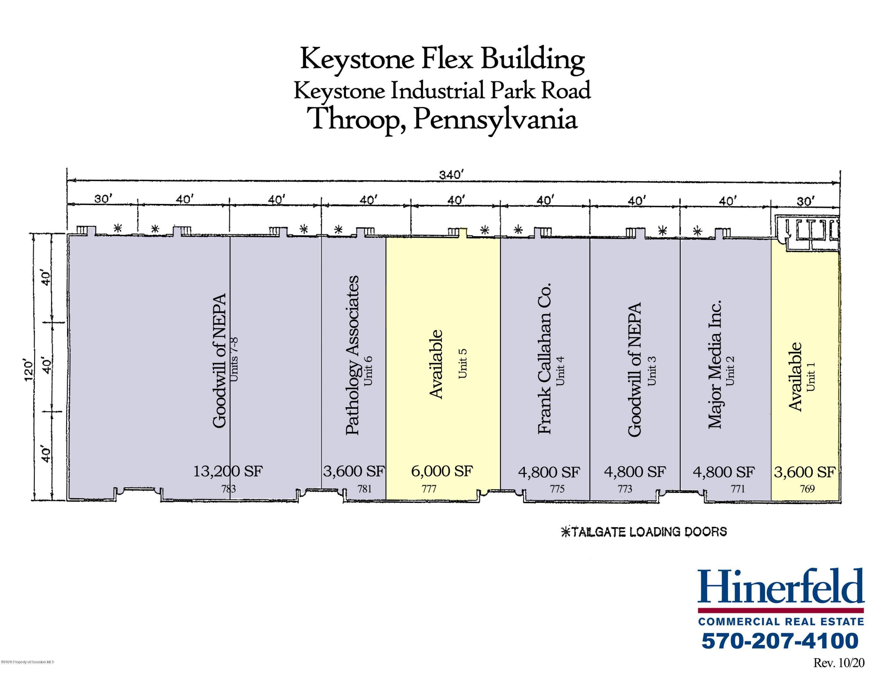7. Commercial for Rent at 769 Keystone Industrial Park Rd Throop, Pennsylvania 18512 United States