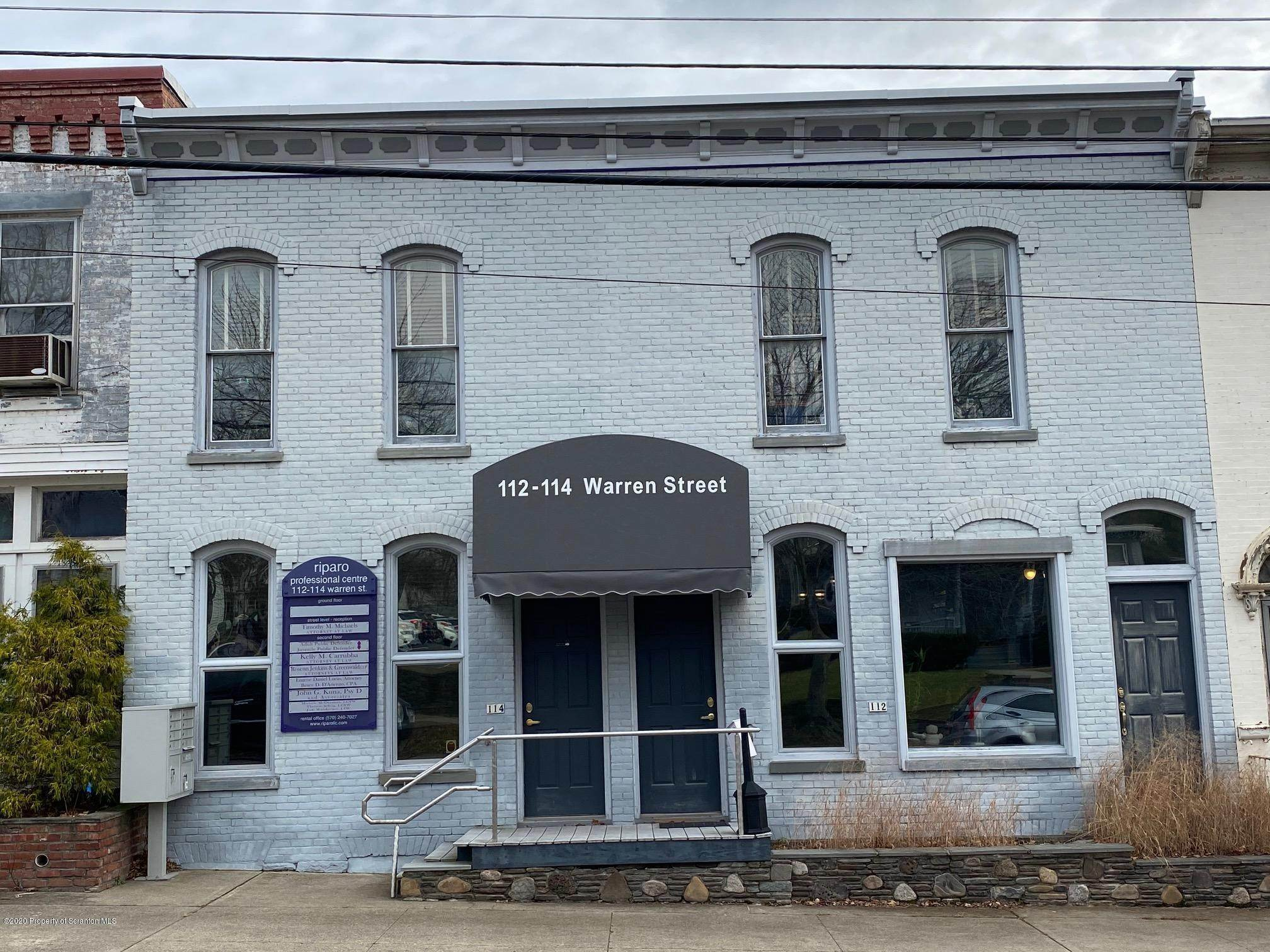 Property for Rent at 112 /114 Warren St Tunkhannock, Pennsylvania 18657 United States